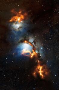 Credit: ESO/APEX (MPIfR/ESO/OSO)/T. Stanke et al./Igor Chekalin/Digitized Sky Survey 2