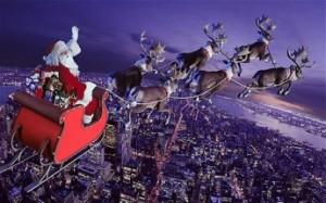 Santa_being_pulled_by_his_reindeer