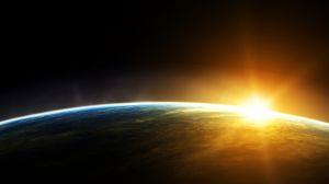 sunrise-over earth